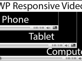 WP Responsive Video WordPress Plugin